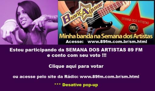 Bianca Aguiar na 89 FM