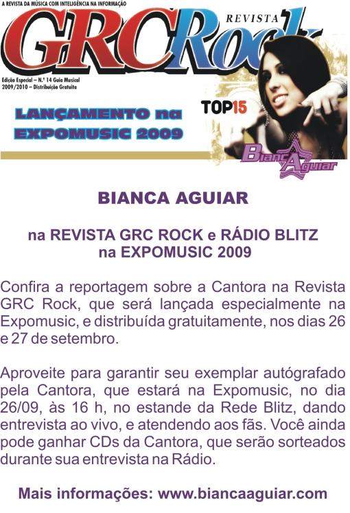 BIANCA AGUIAR NA EXPOMUSIC 2009